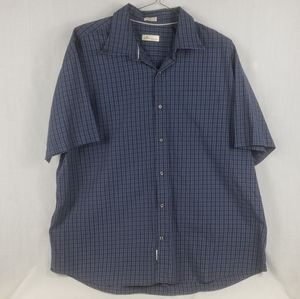 Peter millar short sleeve shirt button up sz XL